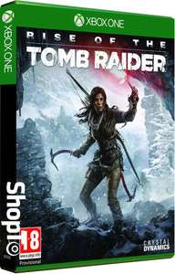 Rise of the Tomb Raider sur Xbox One  avec pack DLC