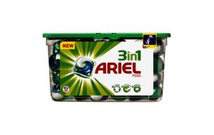 Lessive doses 3 en 1 Ariel Power Pods