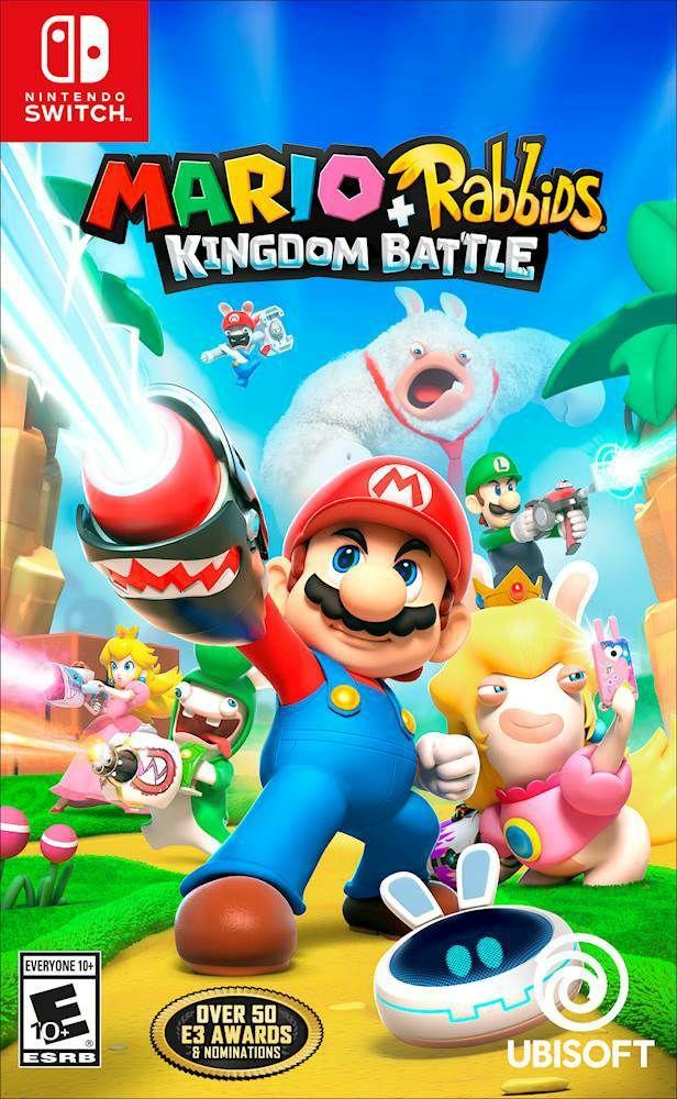 Mario + Lapin crétin Kingdom Battle sur Nintendo Switch (Dématérialisé - Nintendo Eshop Russe)