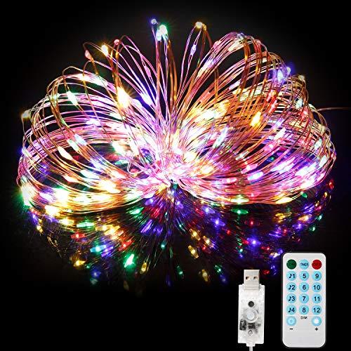 Guirlande Lumineuse 20M 200LED BITIWEND - IP65, Alimenté par USB (Vendeur tiers)