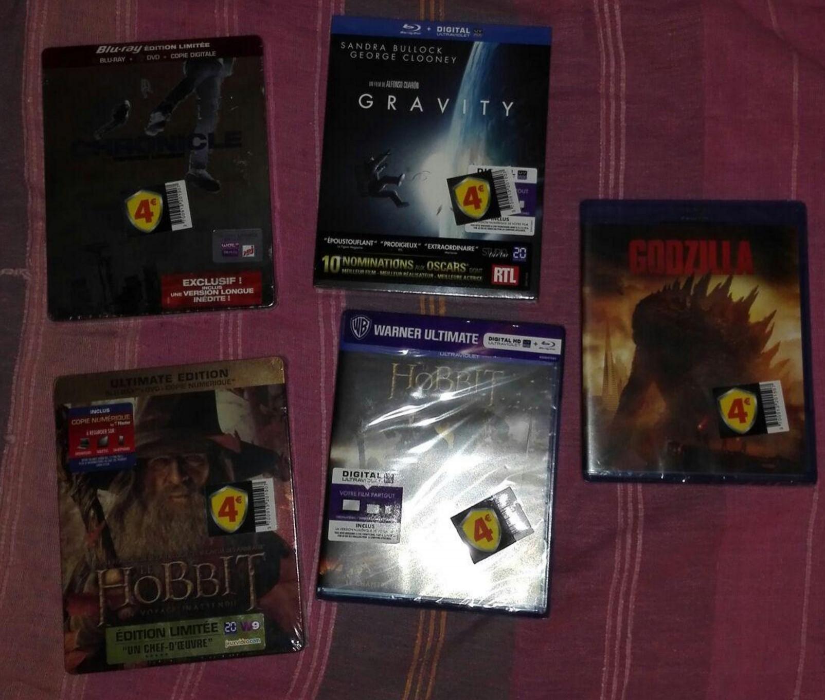 Sélection de Blu-ray en soldes - Ex : The Hobbit