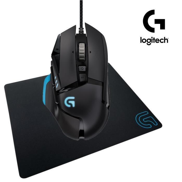 Souris gaming Logitech G502 Proteus Core + Tapis de souris G240
