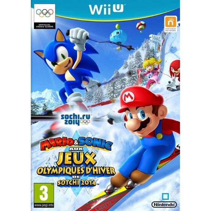 Jeu Mario & Sonic aux Jeux Olympiques 2014 sur Wii U