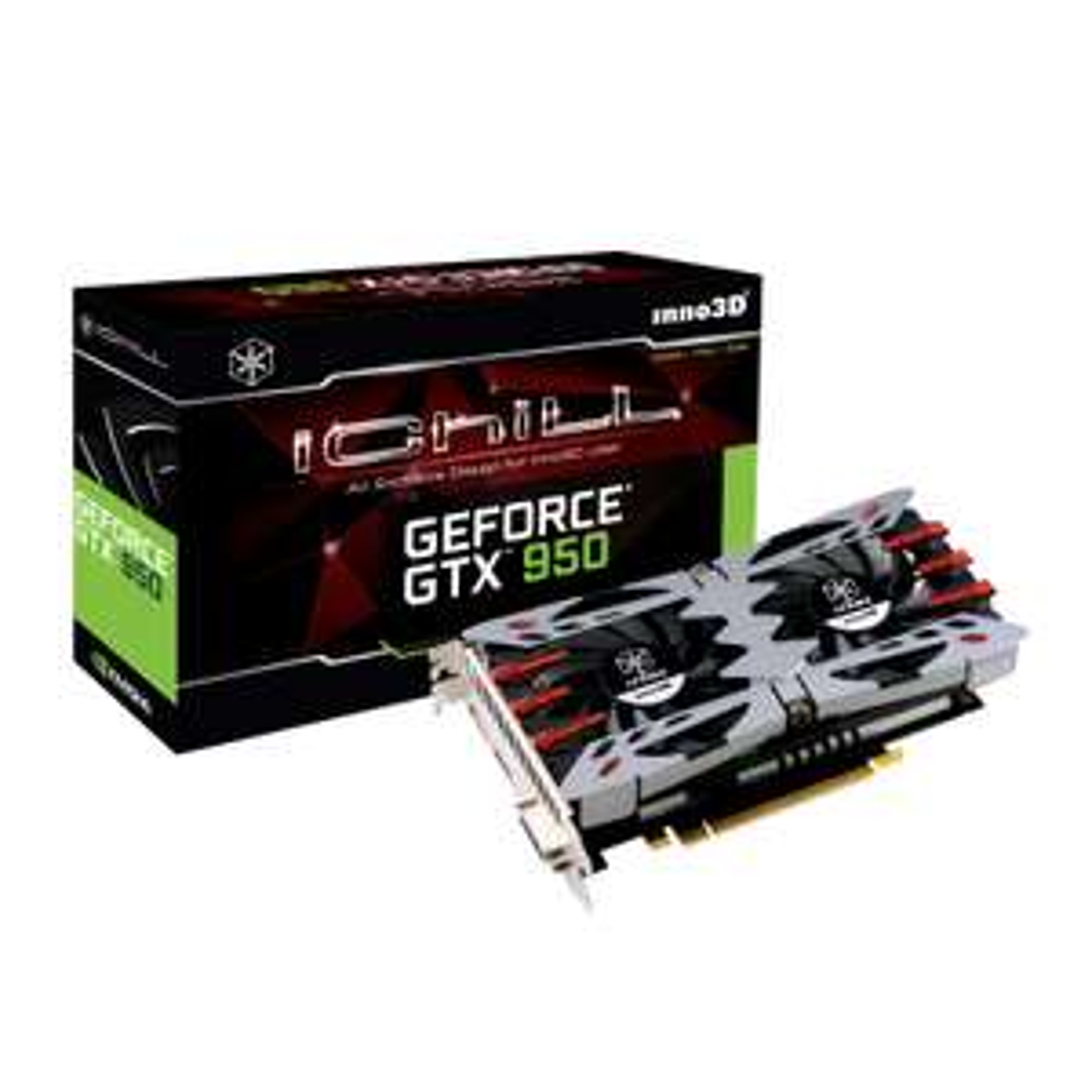 Carte graphique Zotax GeForce GTX 960 2 Go à 149€ et Inno3D iChill GeForce GTX 950 2G