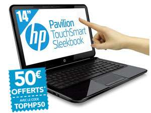 HP  Pavilion TouchSmart 14-B159EF Sleekbook - Ultra Portable Tactile 14'' - Intel Core i5