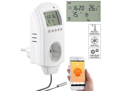 Thermostat numérique connecté pour chauffage