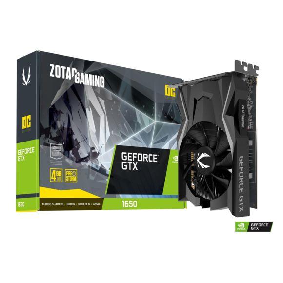 Carte Graphique Zotac Geforce GTX 1650 OC - 4 Go