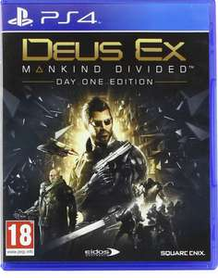 Deus EX Mankind Divided Day One Edition sur PS4 (Vendeur Tiers)