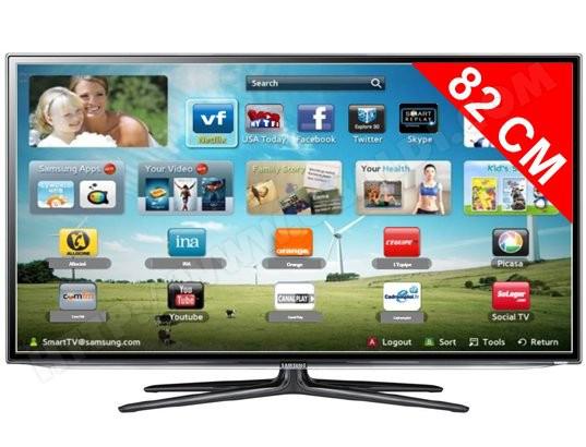 Télévision samsung UE32ES6100 (150€ de réduction immédiate avec coupon)