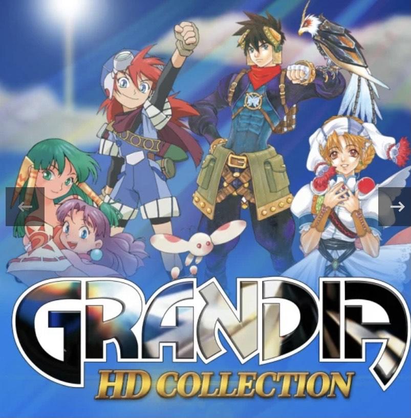 Grandia HD Collection sur Nintendo Switch (Dématérialisé)