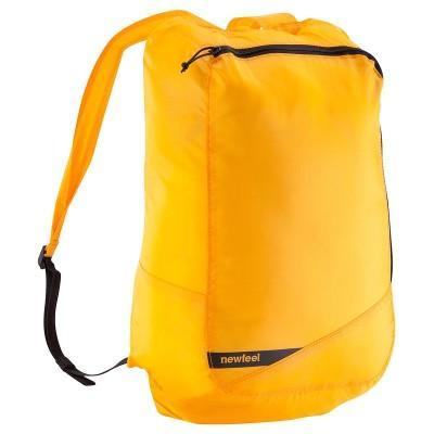 Sac a dos pliable 14 L Newfeel Pocket Bag - Mandarine