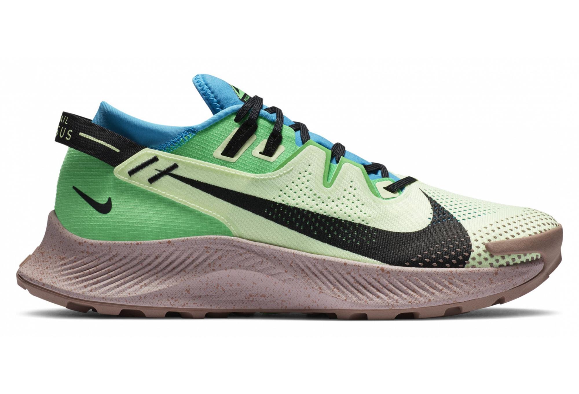 Chaussures de Trail Nike Pegasus Trail 2 - Vert / Bleu / Marron