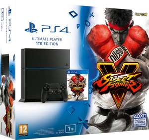 Console Sony PS4 1 To + Street Fighter V