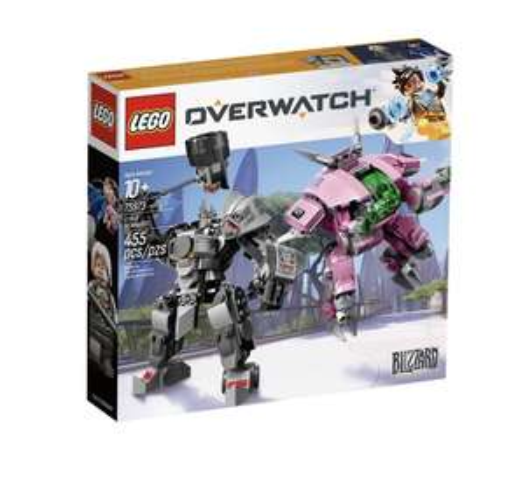 Jeu de construction Lego Overwatch - D.va et Reinhardt n°75973
