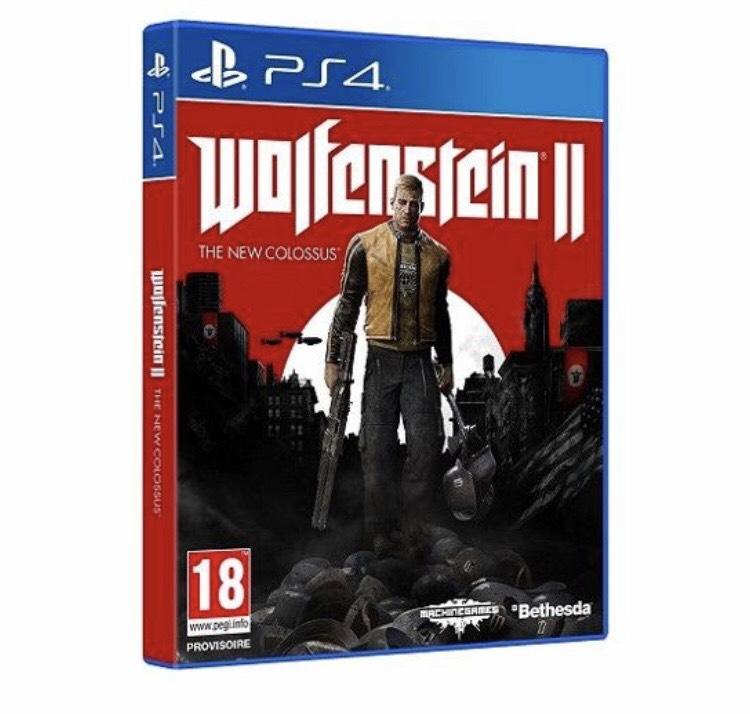 Wolfenstein II : The New Colossus sur PS4 (+0,50 en Rakuten Points)