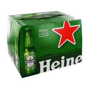 Pack de 20 bières Heineken gratuit - 20x25 cl (via 10.40€ sur carte Leclerc)