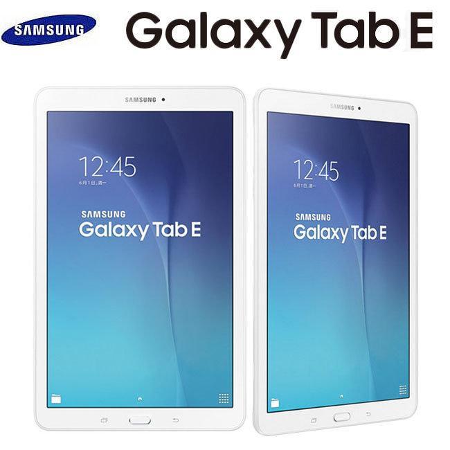 """Lot de 2 tablettes 9.6"""" Samsung Galaxy Tab E - 8 Go, Blanc, Wifi"""
