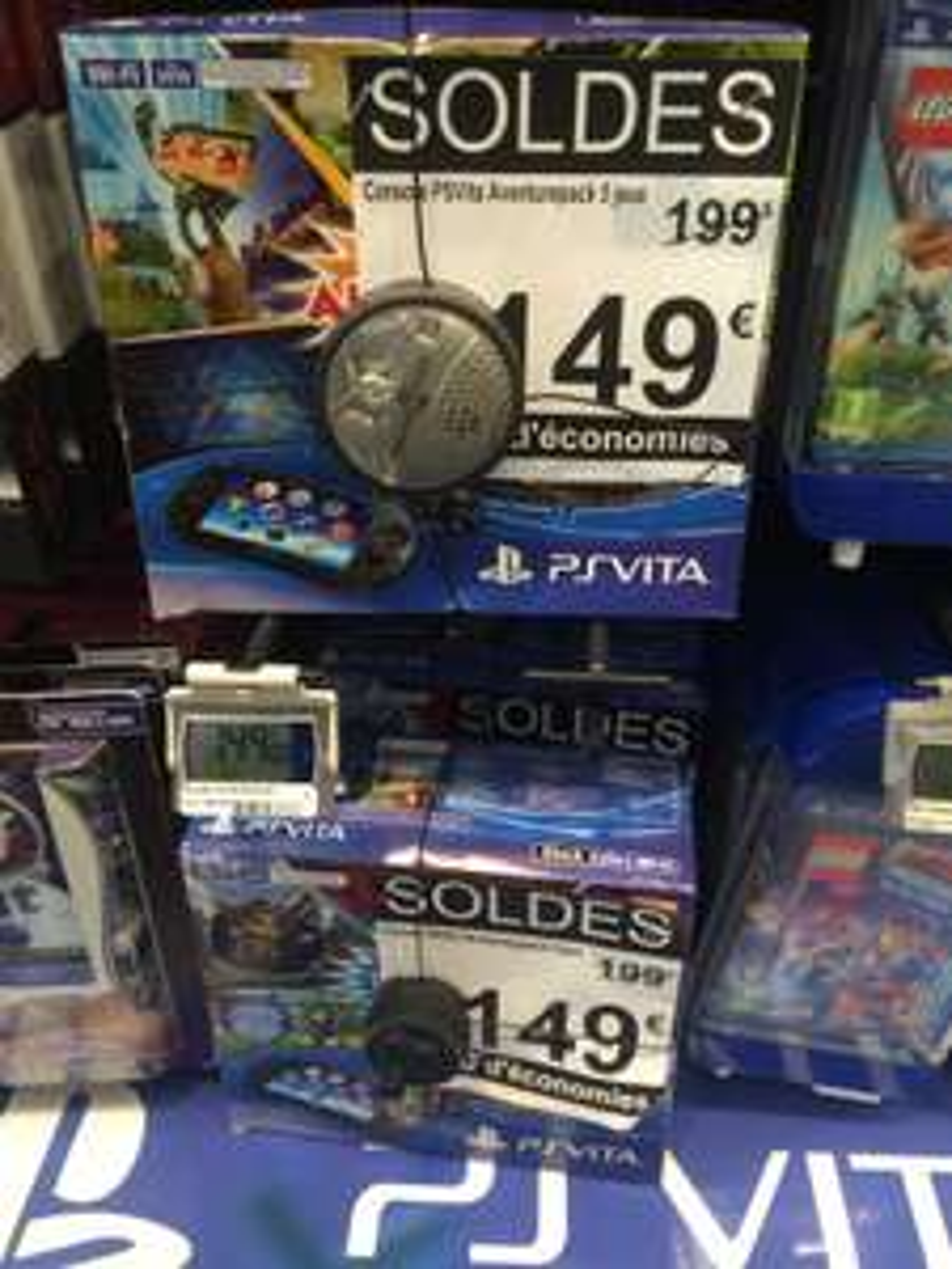 Console PS Vita Aventure Pack