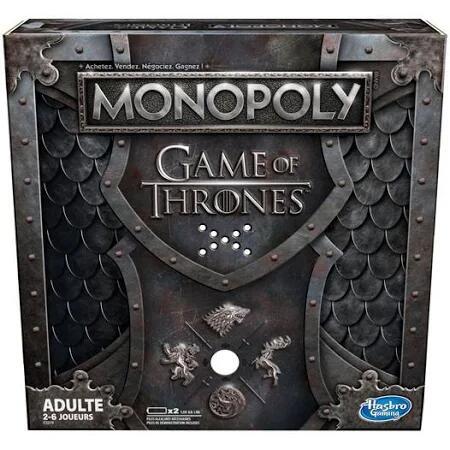Jeu de société Monopoly Game of Thrones