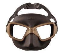 Masque de chasse sous-marine Omer Zero 3 Marron (sportsmed.fr)