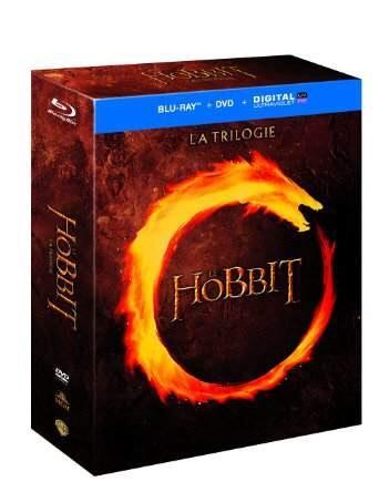 Coffret Blu-ray + DVD + Digital : Le Hobbit - La trilogie