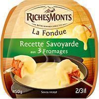 3 paquets de fondue Richemonts (avec 30% en ticket Leclerc + ODR)