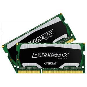 Kit mémoire DDR3L Crucial  Ballistix Sport 16 Go (2 x 8 Go) - 1600MHz, CL9