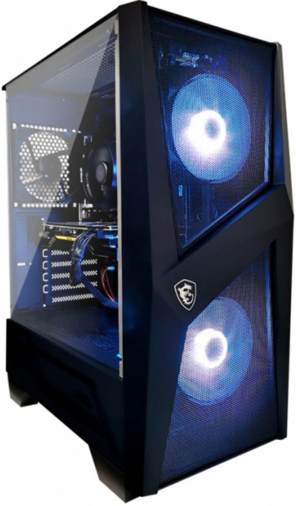 Tour PC Fixe MSI Mag Forge 100- Ryzen 7 3700x - CM B550, 16 Go de Ram, SSD 1 To, RTX 3070