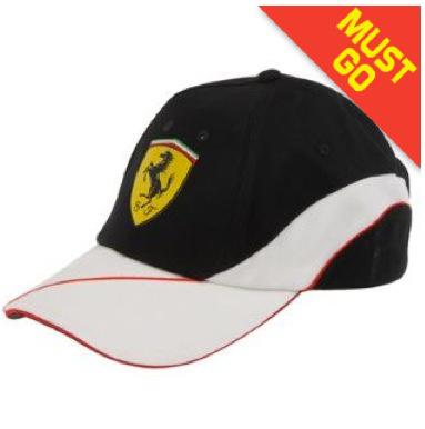 Casquette Homme Puma Scuderia Ferrari en Noir