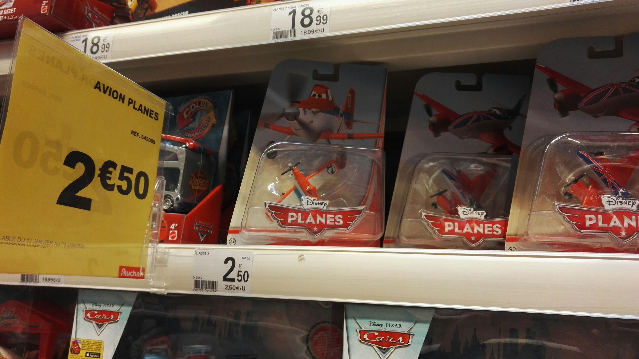 Figurines Planes Disney Pixar Dusty Crochopper Bulldog 7cm, métalique