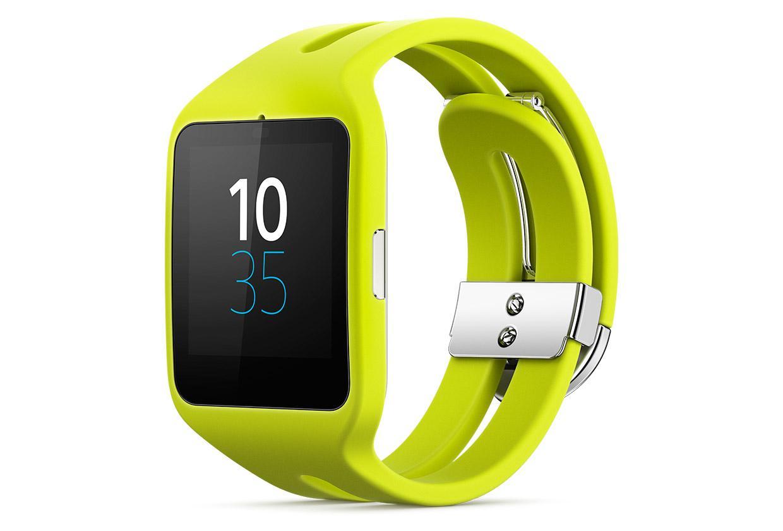 Montre connectée Sony Smartwatch 3 SWR50 - Vert Citron