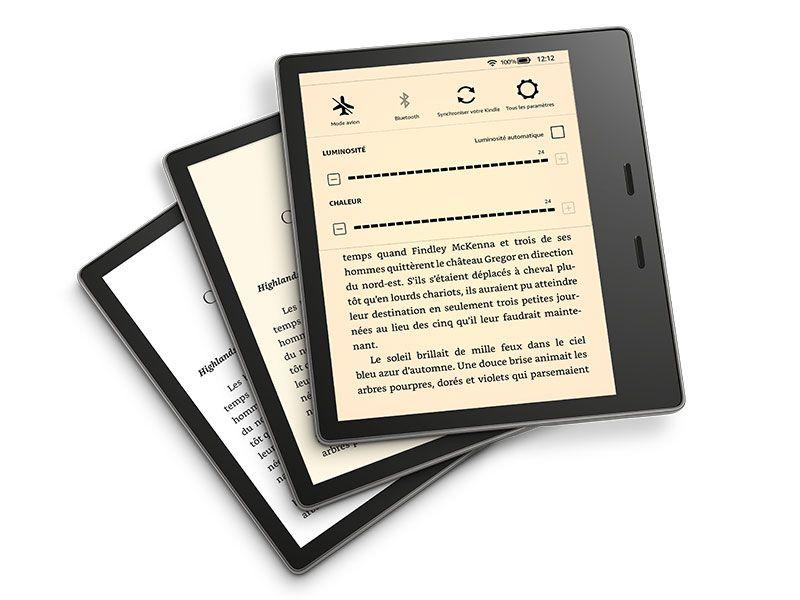 "Liseuse 7"" Kindle Oasis - 8 Go, Wi-Fi, IPX8"