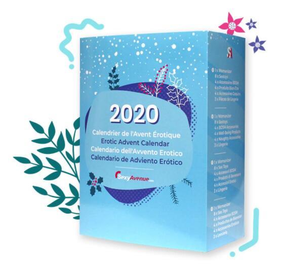 Calendrier de l'avent Érotique 2020