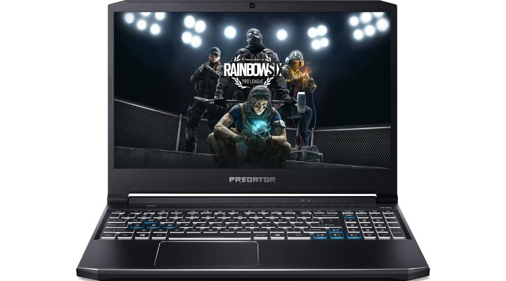"""PC Portable 15,6"""" Acer Predator PH315-53-773C - FHD 144Hz, i7-10750H, RTX 2070 Max-Q 8Go, 16Go RAM, 512Go SSD (+ 70.18€ en RP) - Boulanger"""