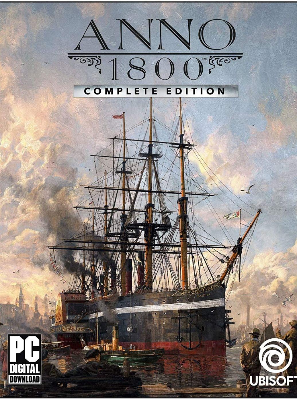 Anno 1800 Complete Edition sur PC (Dématérialisé - Uplay)