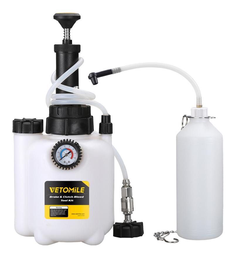 Kit de purge de liquide de frein et d'embrayage Vetomile - 3L