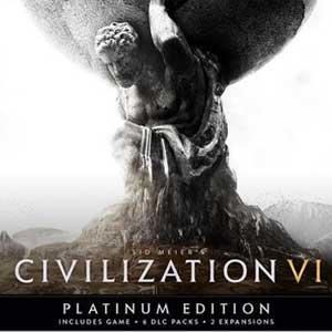 Sid Meier's Civilization VI - Édition Platinum sur PC (dématérialisé, Steam)