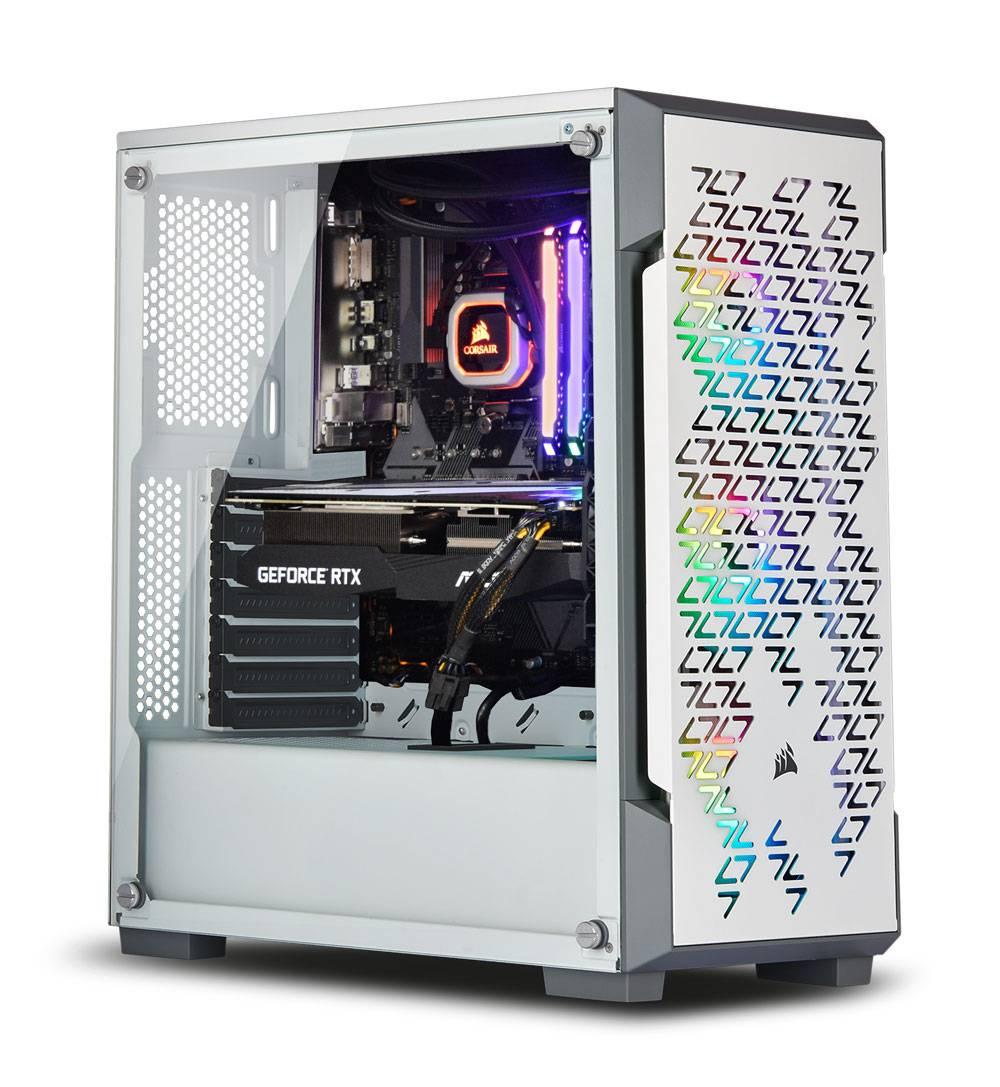 Ordinateur AWD 220T RGB - Ryzen 5 3600 (3.6 GHz), RTX 3070 (8Go), 16Go RAM (3200 mHz), 500Go SSD, alim. Corsair 650 W, Asus B550M-A, sans OS