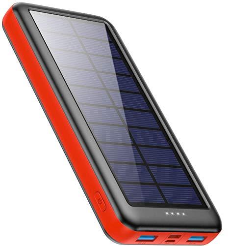 Batterie Externe Ekrist avec charge solaire - 26800mAh (Vendeur tiers)