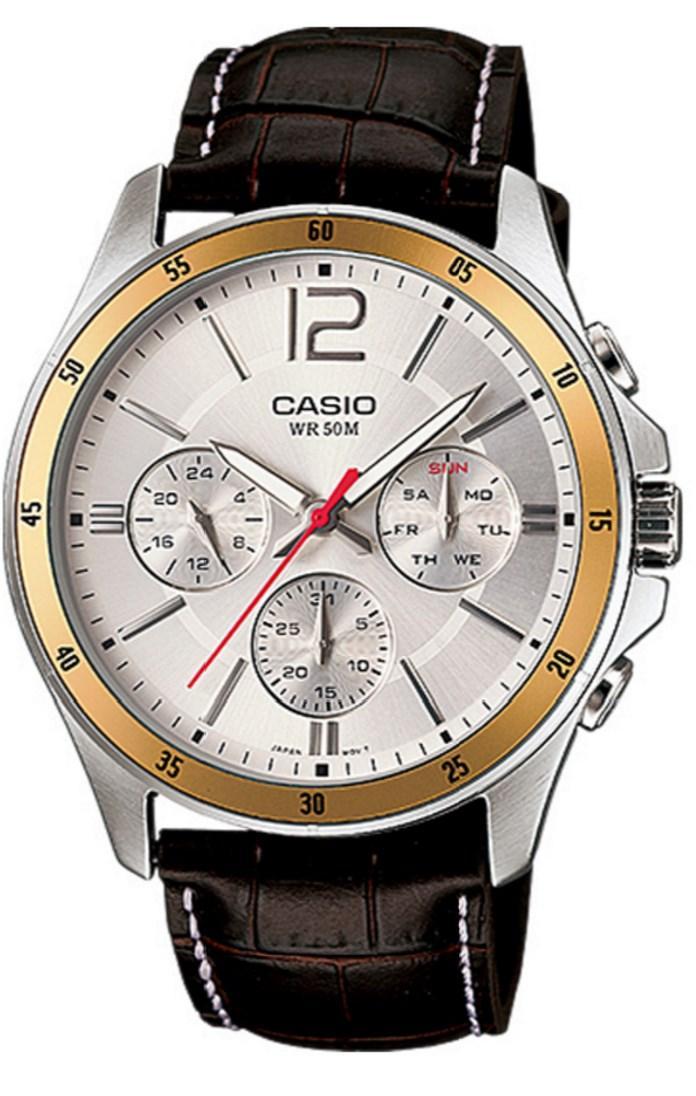 Jusqu'à -53% sur une sélection de montre Casio - Ex : Montre Homme MTP-1374L