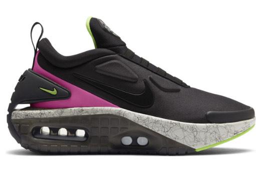 Baskets Nike Adapt Auto Max Black Fireberry Electric Green
