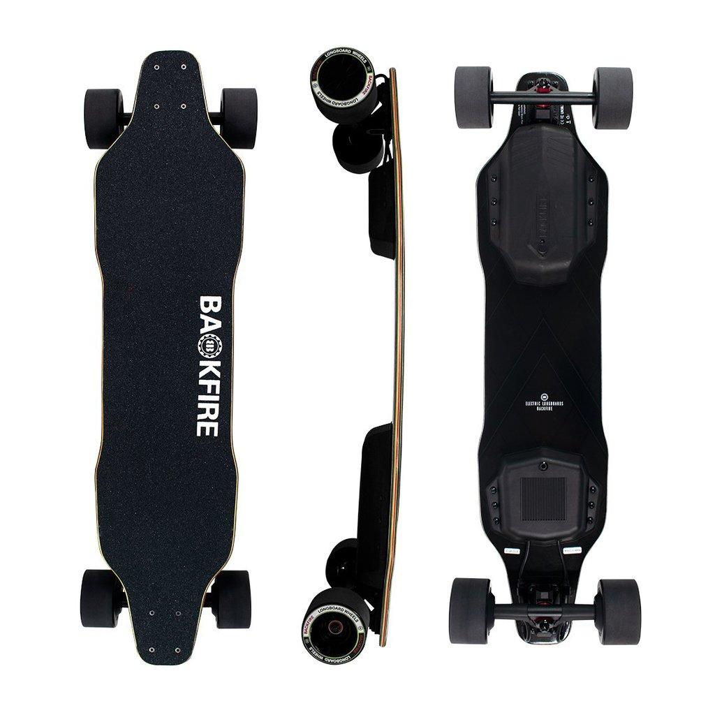 Skateboard électrique Backfire G2 Black - BackfireBoards.com