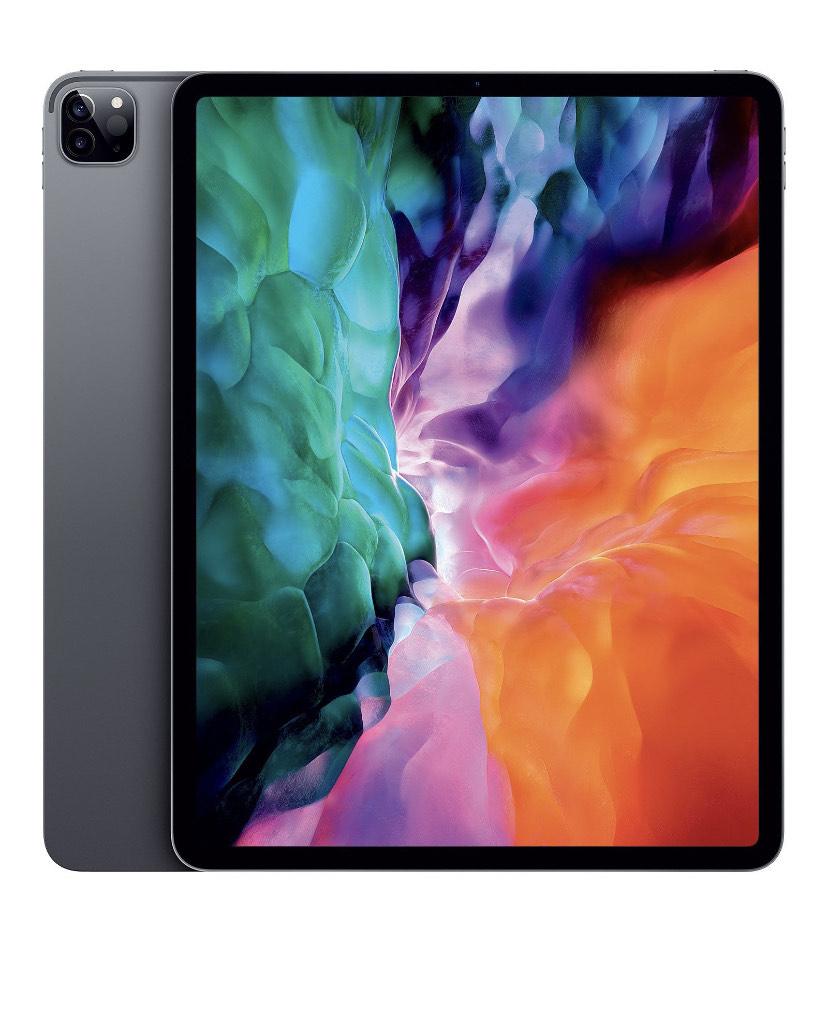 """Tablette 12.9"""" Apple iPad Pro (2020) - Wi-Fi , 128 Go, Gris (+44,35 € en Rakuten Points)"""