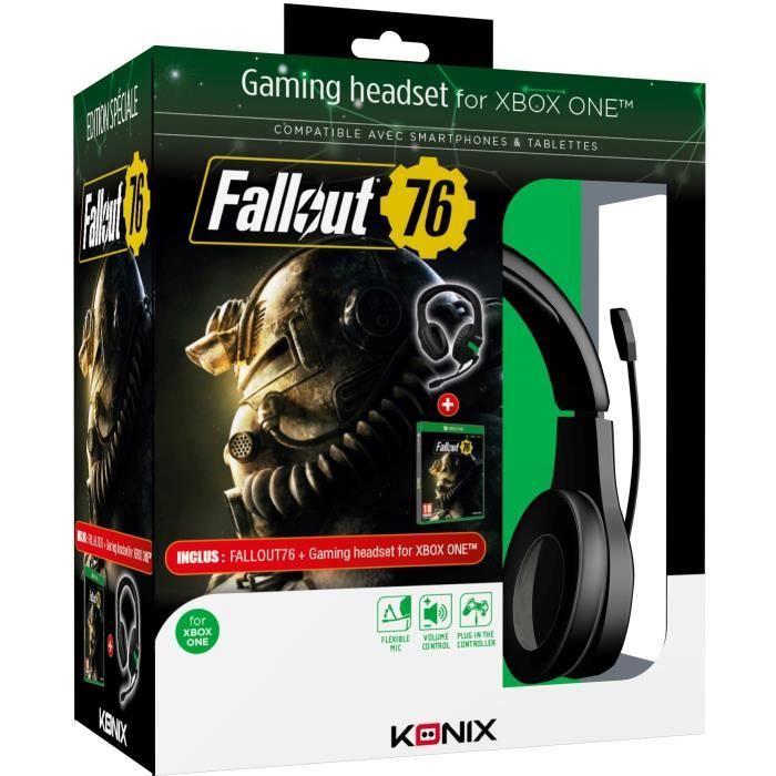 Casque audio PS-400 + Fallout 76 sur Xbox One