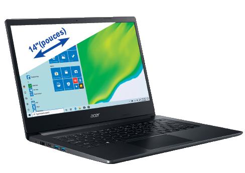 """PC Portable 14"""" Acer A314-22-R0U0 - Full HD, Ryzen 5 3500U, 8 Go RAM, SSD 1 To, Windows 10"""