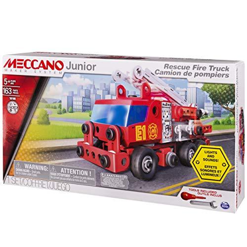 Jeu de construction Meccano Camion de Pompiers Deluxe - 6028420 (Vendeur Tiers)