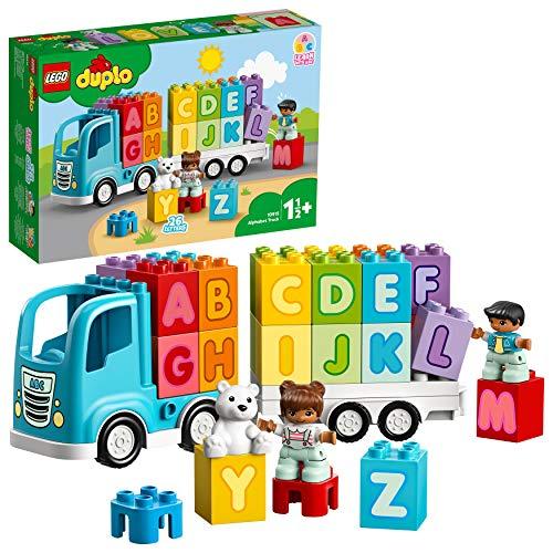 Jeu de construction Lego Duplo - Le camion des lettres (10915)