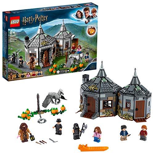 Jeu de construction Lego Harry Potter - La Cabane de Hagrid : Le Sauvetage de Buck (75947)