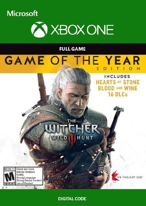 The Witcher 3 Wild Hunt GOTY sur Xbox One (Dématérialisé)