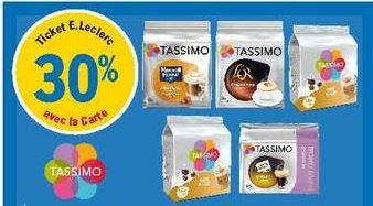 Sélection de dosettes de café Tassimo en promotion - Ex: Tassimo Espresso Classique x16 (via 1€ sur la carte de fidélité)